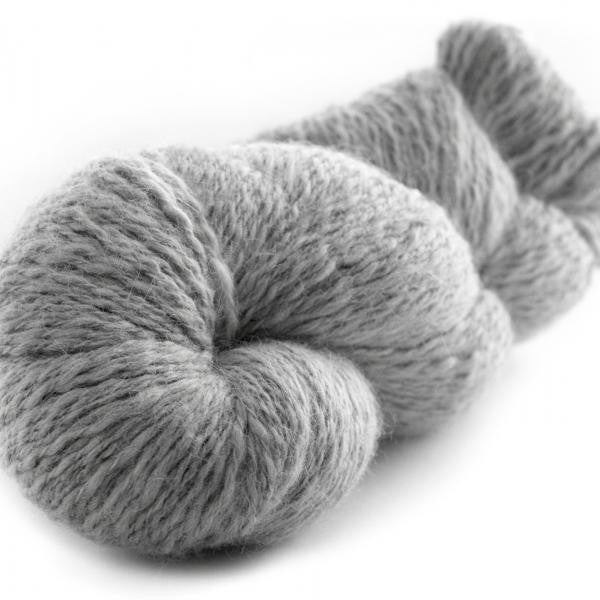 Silver Gray-134 - Peruvian Tweed - Fibre Studio Exclusives