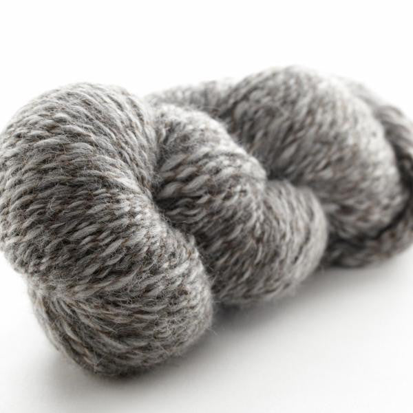 Pewter Brown-136 - Peruvian Tweed - Fibre Studio Exclusives