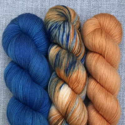 Don't Be Koi, Brilliant Blue, Squash Blossom - 3-Color Kit