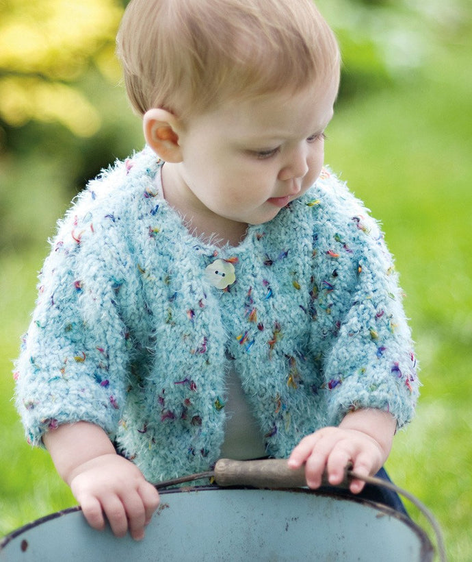 Blossom Baby Sweater - Churchmouse - Patterns