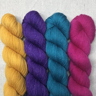Curry, Empower Purple, Neptune, Fuchsia - Studio Smitten - 4-Color Kit
