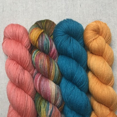 Coral, Mountain Sunset, Neptune, Curry - Studio Smitten - 4-Color Kit