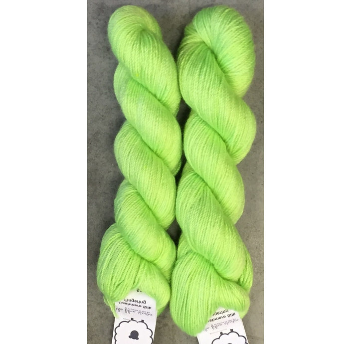 Chartreuse - Cashmere Silk - Fingering