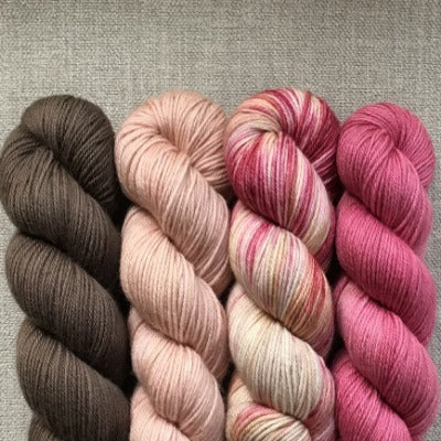 Fear No Moor, Blush, That Valentine's Day, Kiss - Studio Fingering - 4-Color Kit