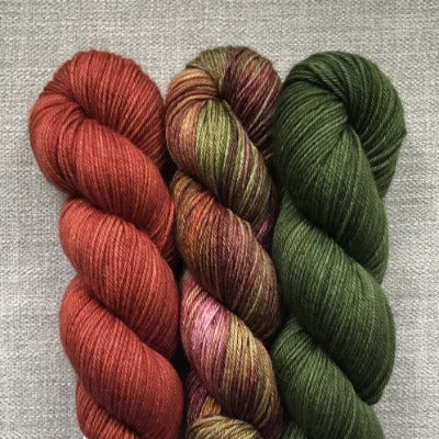 Tapestry, Red Fox, Forest Green - 3-Color Kit