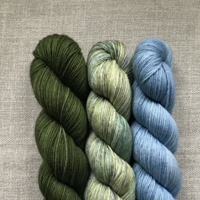 Forest Green, Sassenach, First Glance - 3-Color Kit