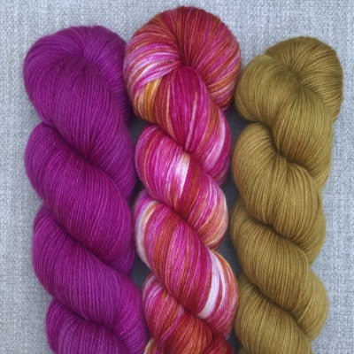 Fuchsia, Phoenix Rising, Tobacco Road - 3-Color Kit