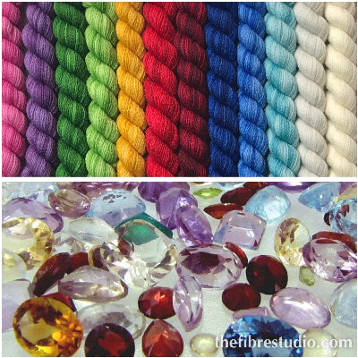 12/1 Gems - Mini Skein Kits