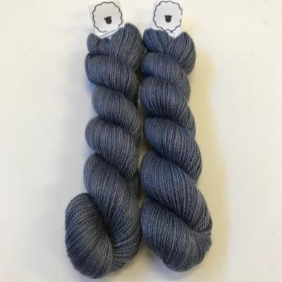 Steel Blue - Cashmere Silk - Fingering
