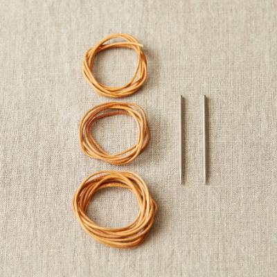 Leather Cord and Needle Stitch Holder Kit - CocoKnits