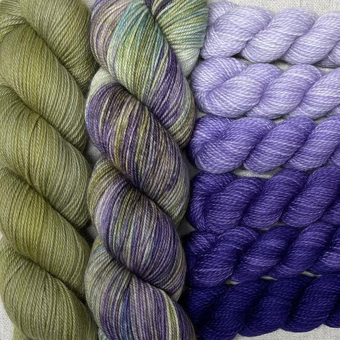 Lichen, Grapes of Wrath, Purpleicious - Oh Happy Wrap