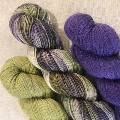 Grapes Of Wrath, Lichen, Purpleicious - 3-Color Kit