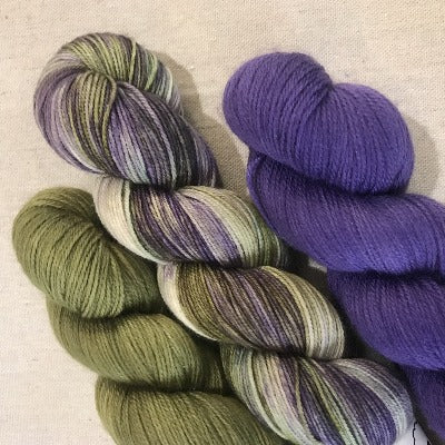 Grapes Of Wrath, Basil, Purpleicious - 3-Color Kit