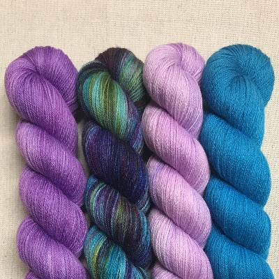 Electric Lilac, Peacock, Lilac, Turquoise - Studio Smitten - 4-Color Kit