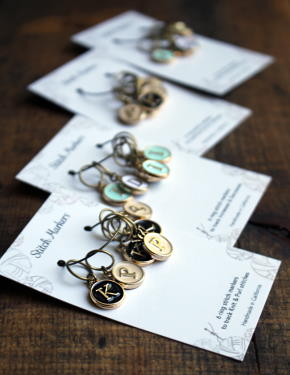Mark Your Place Stitch Markers - NNK Press