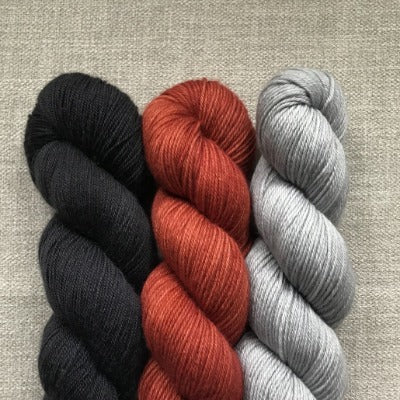 Noir, Red Fox, Silver Lining - 3-Color Kit