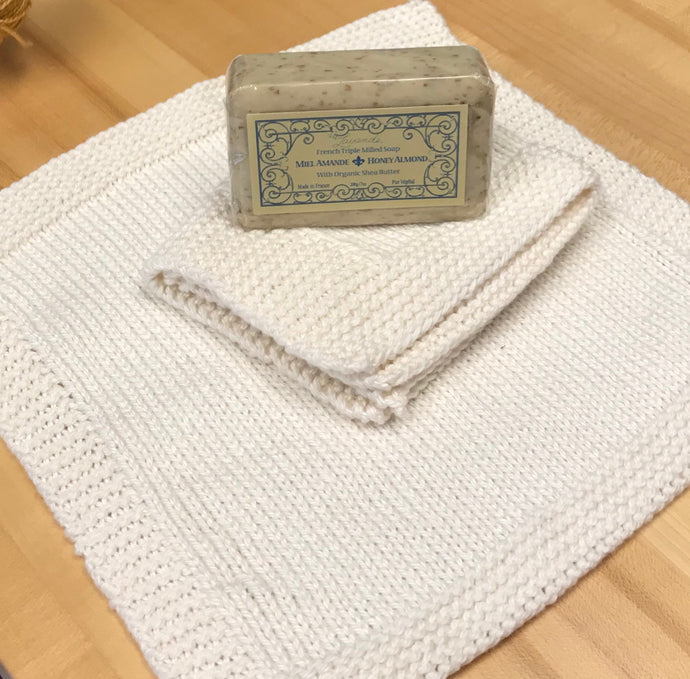 Wash Cloth - Cotton Bamboo