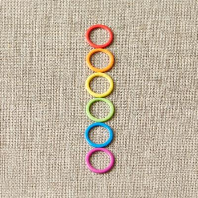Colored Ring Stitch Markers - CocoKnits - Accessories
