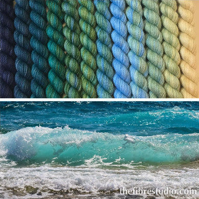 12/1 Seaside - Mini Skein Kits