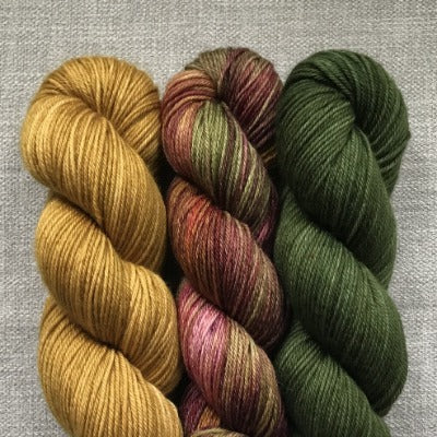 Tapestry, Tobacco Road, Forest Green - 3-Color Kit