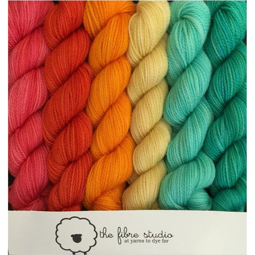 6/1 Tequila Sunrise - Mini Skein Kits