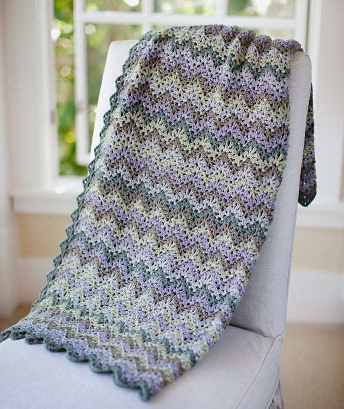 Vintage Crochet Throw & Afghan - Churchmouse - Patterns