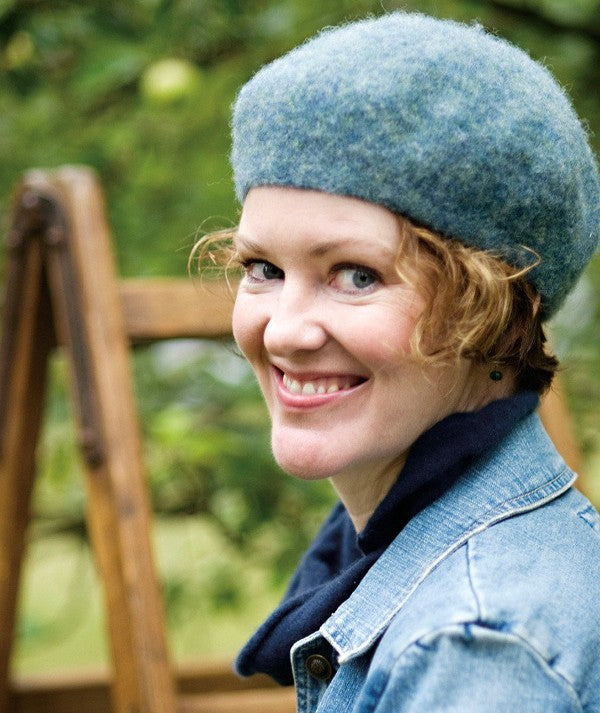 Felted Shetland Beret - Churchmouse - Patterns