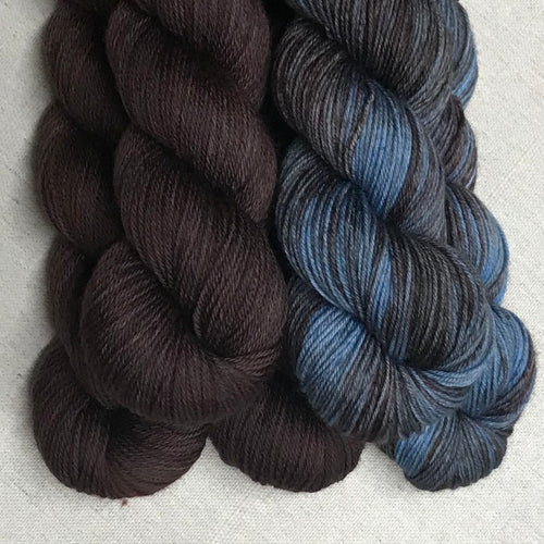 Dark Roast, Stepping Into The Past - Colorwork - Kits