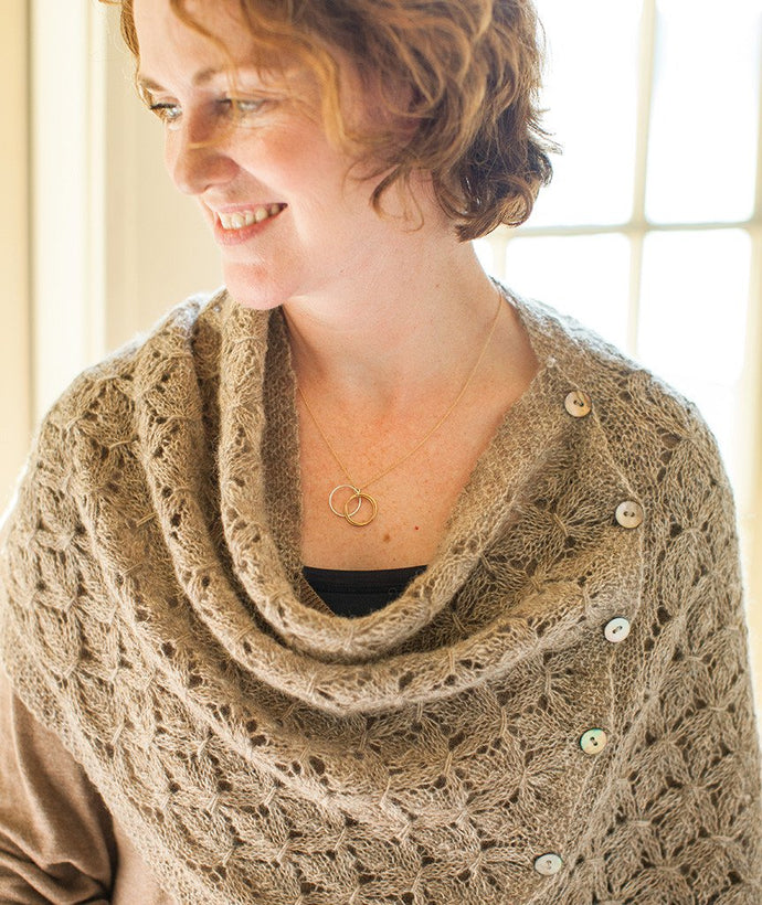 Smocked Lace Wrap - Churchmouse - Patterns