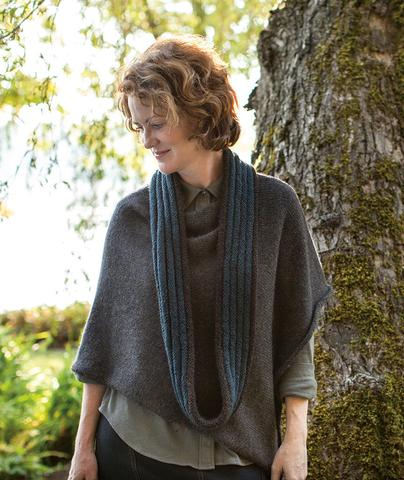 Welted Cowl Infinity Loop - Churchmouse - Patterns