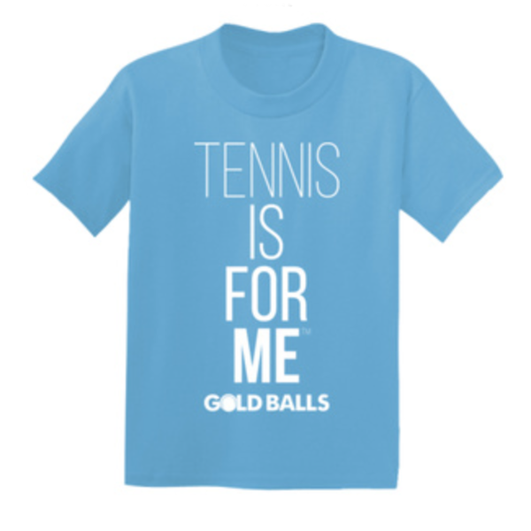 Short Sleeve Tennis Is For Me T-Shirt