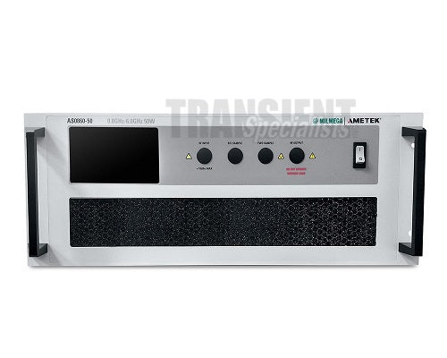 AS0860-50 Milmega Amplifier - Front