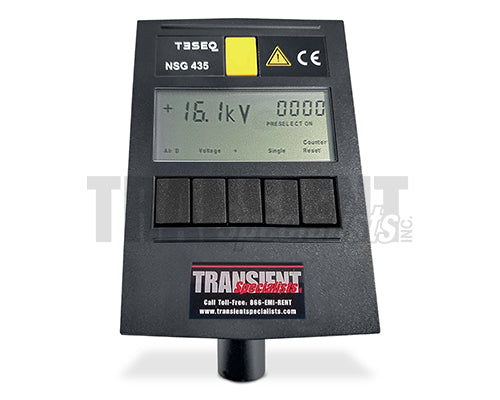 Teseq NSG 435 - Front Screen