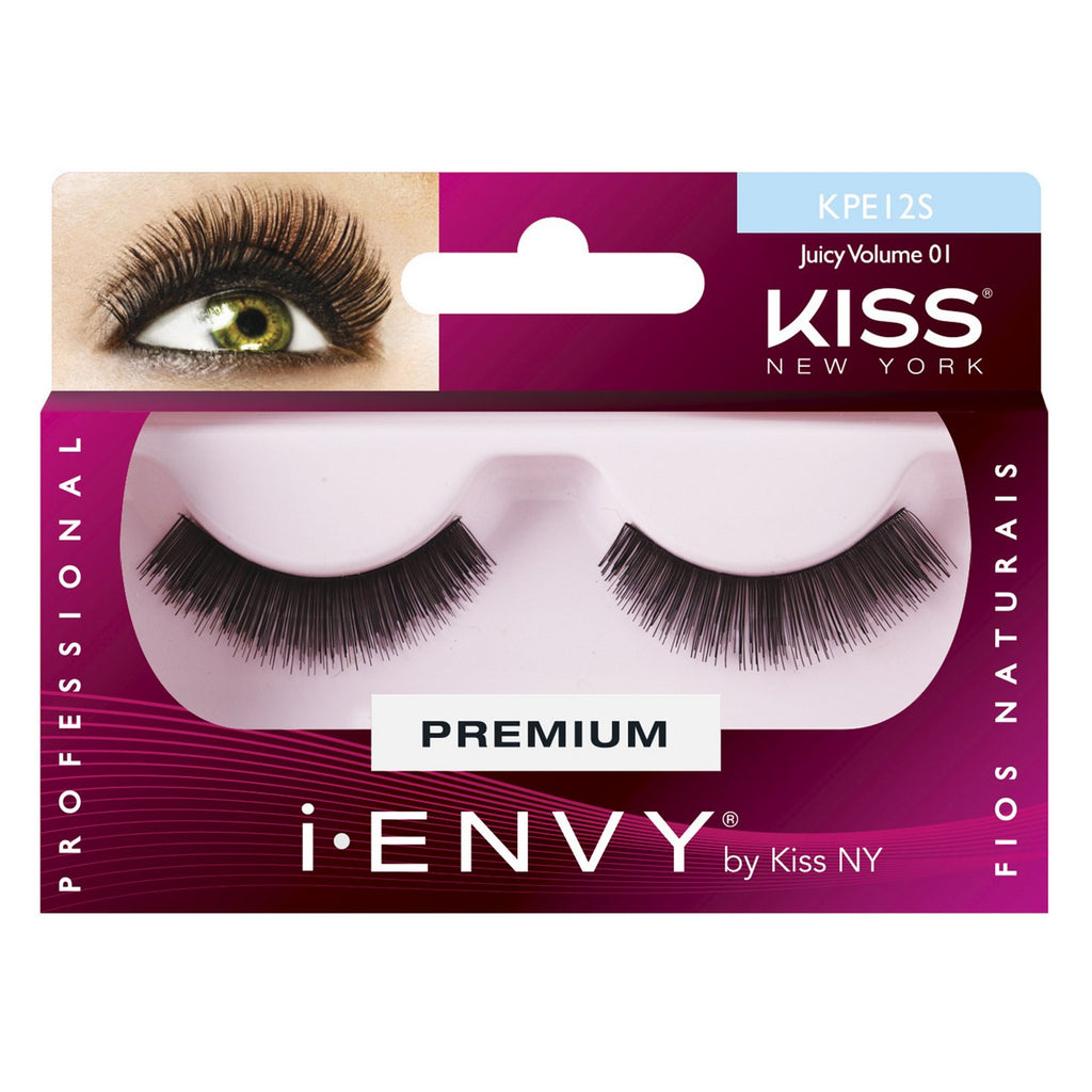 Kiss Cílios Interiço JUICY VOLUME 01 | Web Estética