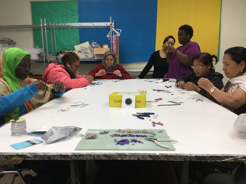 Crafty Hands Club Teaching Experience at Loom Chicago