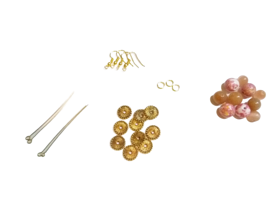 Pink-N-Peachy Earrings Kit