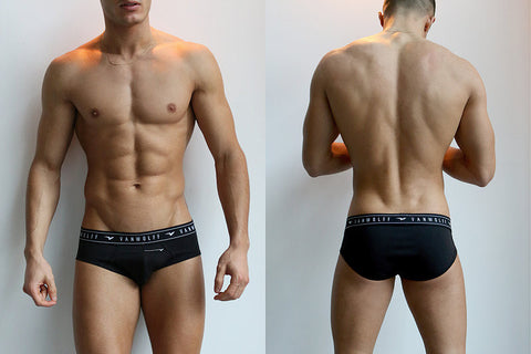 Timber Black Briefs
