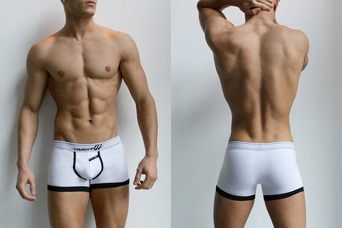 Mackenzie White Trunks