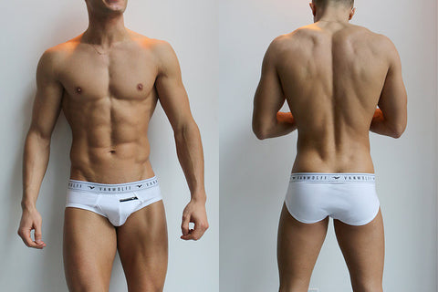 Timber White Briefs