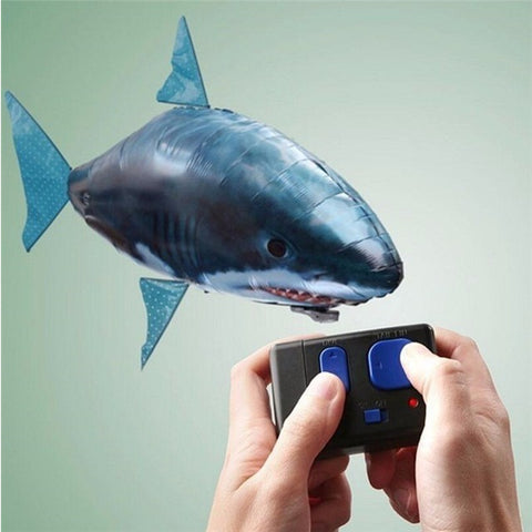 Flying Remote Control Inflatable Fish or Shark Balloon