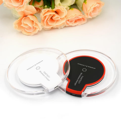 Portable Travel Wireless Charger for iPhone/Samsung Galaxy Mobile Phones