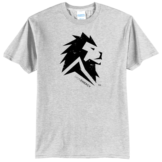 Lion Energy Athletic Tee - Grey