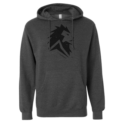 Lion Energy Hoodie - Heather Grey