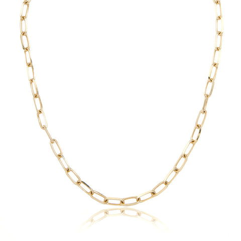 14k LARGE YG LONG LINK CHAIN