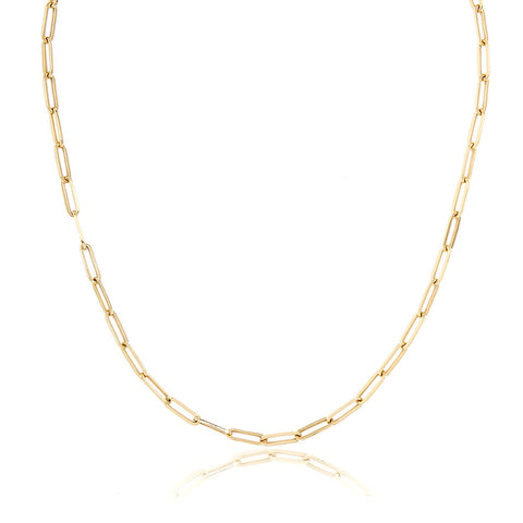 14K MEDIUM LONG LINK CHAIN