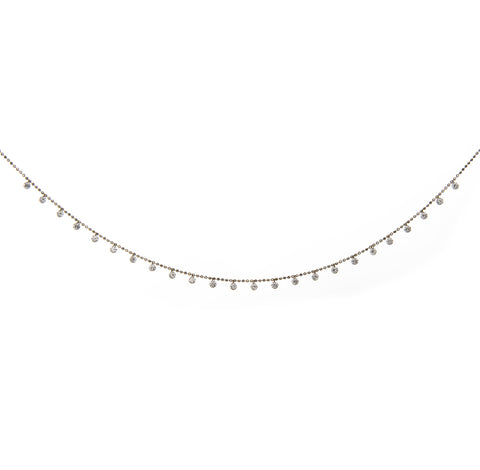 Celeste Floating Diamond Necklace