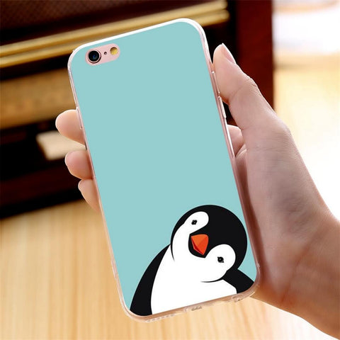Blue Penguin Phone Case - SoulForHer