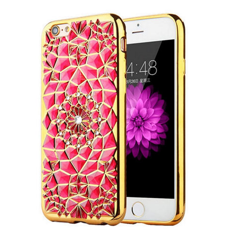 Diamond Flower Phone Case - SoulForHer