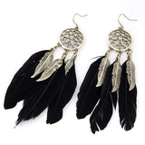 Fab Feather Earrings - SoulForHer