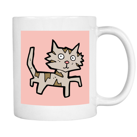 Billy The Cat Coffee Mug - SoulForHer
